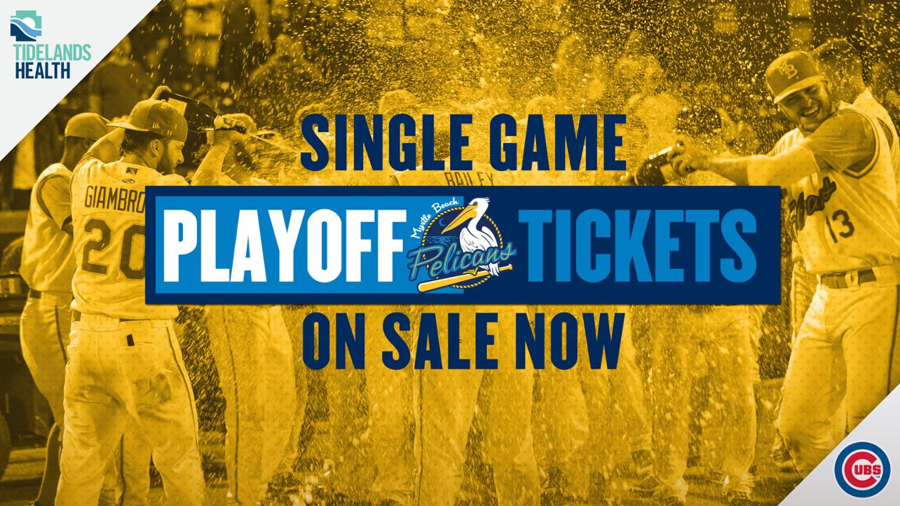 Pelicans single-game playoff tickets available now