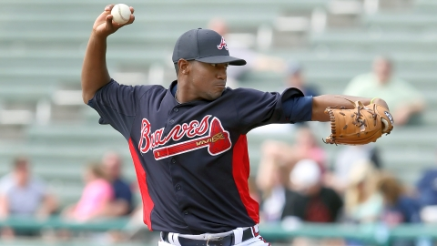 Julio Teheran has allowed two runs on four hits over 14 innings this spring.