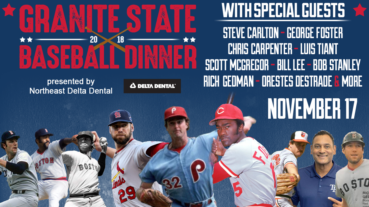 Steve Carlton Headlines the 2018 Granite State Baseball Dinner!
