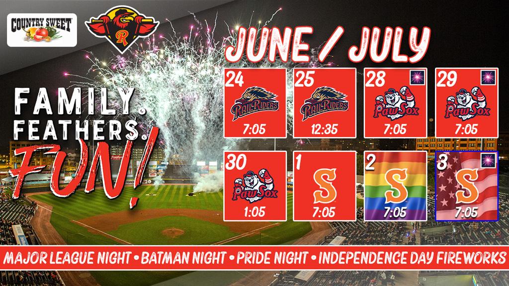 Homestand Highlights June 24_July 3