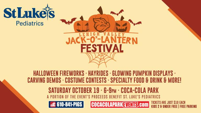 Just announced: Jack-O-Lantern Festival on Oct. 19