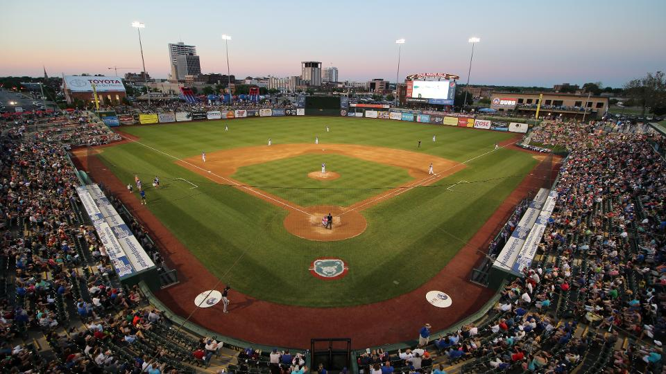 new attendance record set by south bend cubs south bend silver