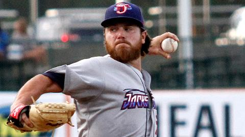 Dillon Peters has allowed one earned run or fewer in six of his eight starts for Jacksonville.