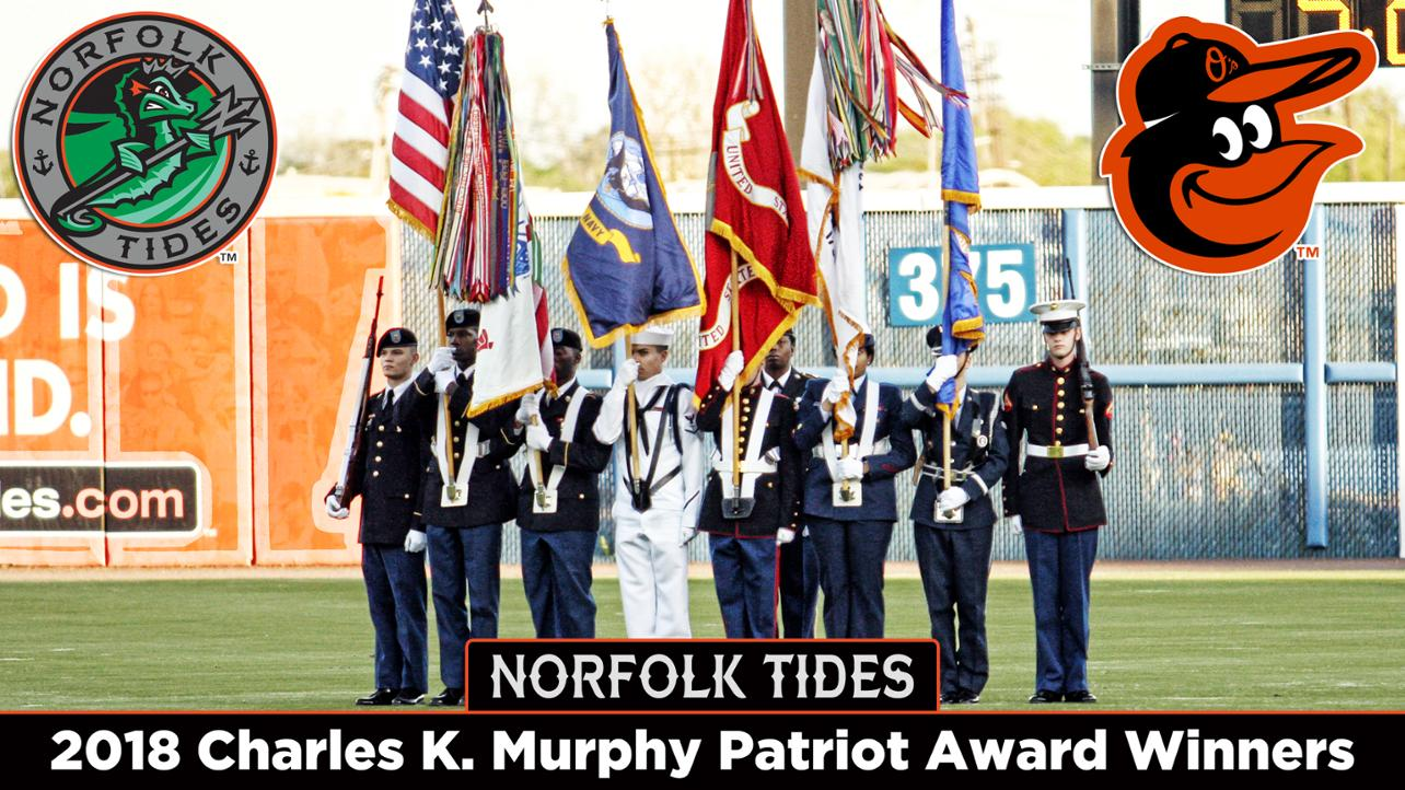 Tides win Charles K. Murphy Patriot Award