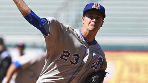 Jake Odorizzi tossed seven innings of Durham's no-hitter.