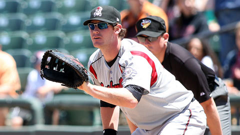 Hunter Morris hasn't gotten the call yet to challenge for a job in Milwaukee.