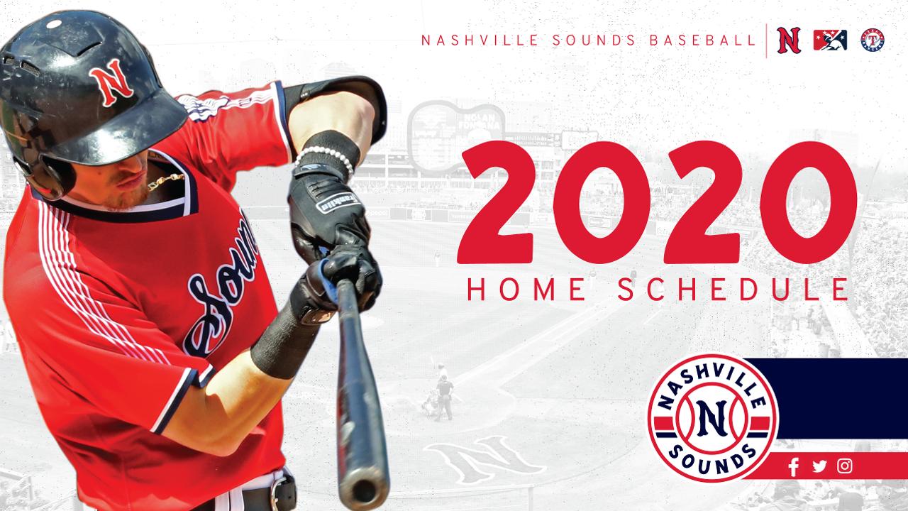 Icubs 2020 Schedule Sounds Announce 2020 Home Schedule | Nashville Sounds News