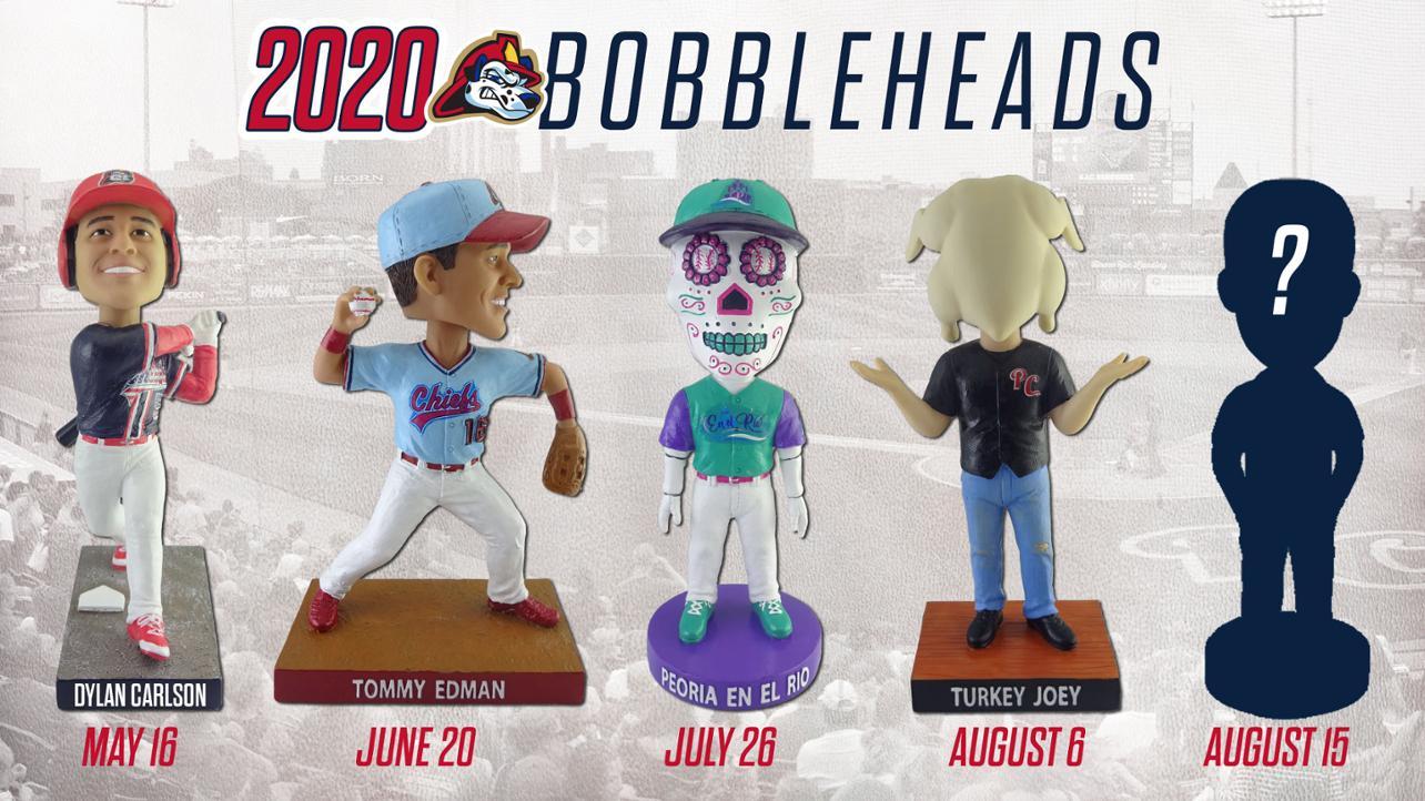 Carlson, Edman, Joey Turkey Highlight 2020 Bobbleheads