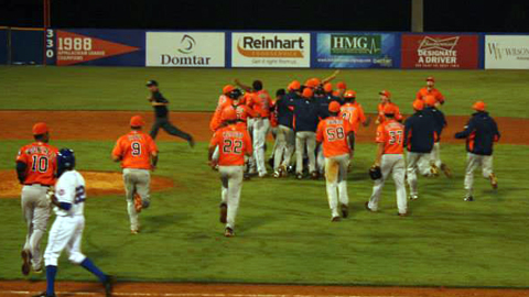 The Astros defeat the Mets to advance to the Appalachian League Championship Series.