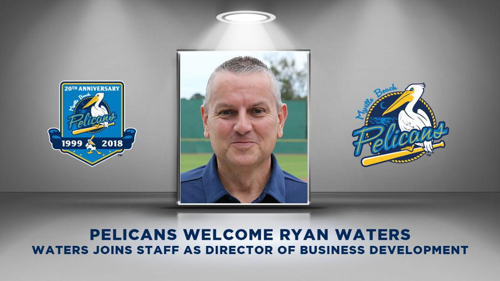 Pelicans Welcome Ryan Waters to Staff
