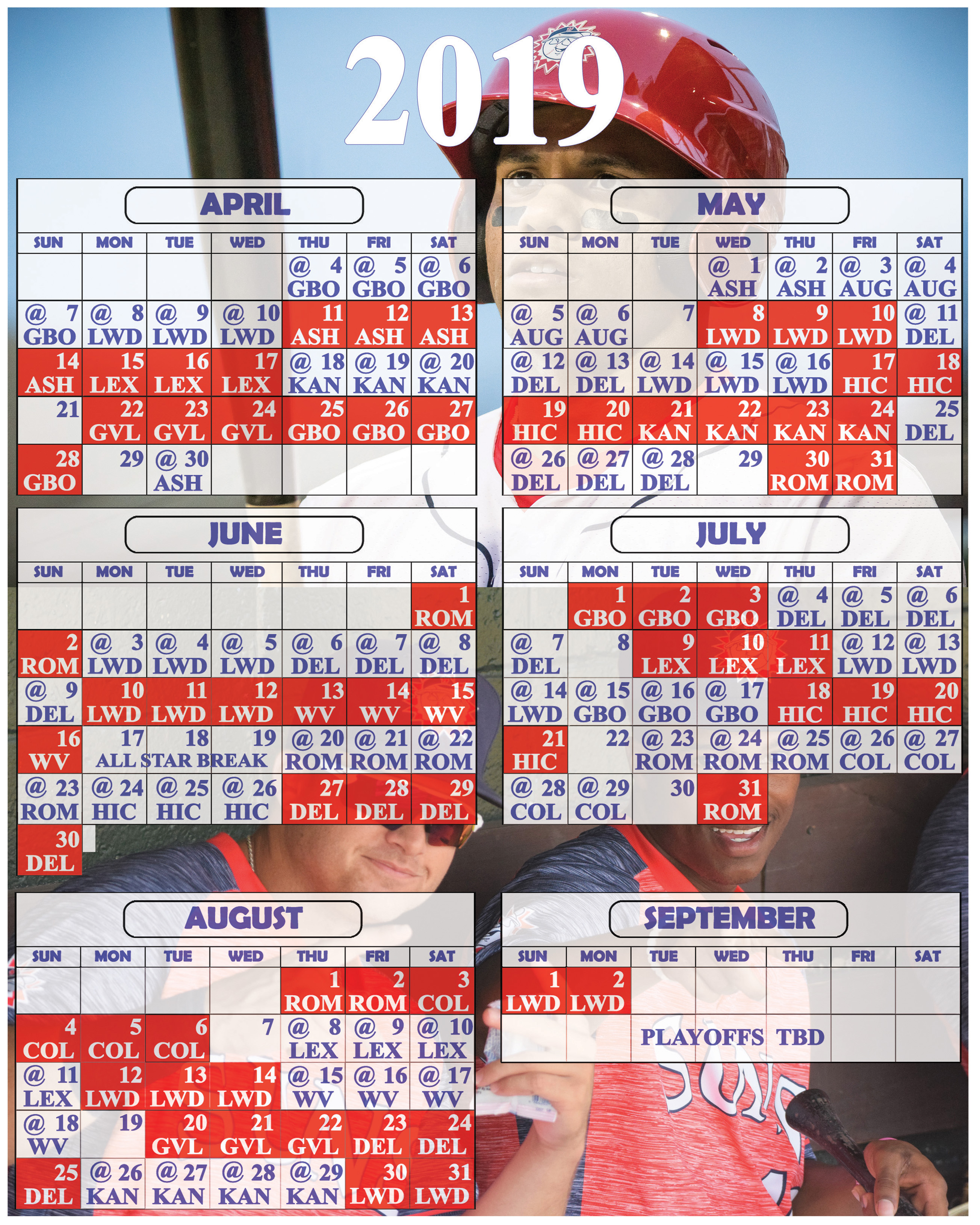 photograph about Washington Nationals Printable Schedule named 2019 Printable Program Suns