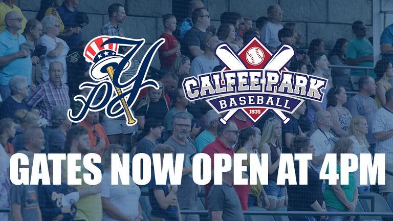 Pulaski Yankees to open gates at 4pm for remainder of 2019 season