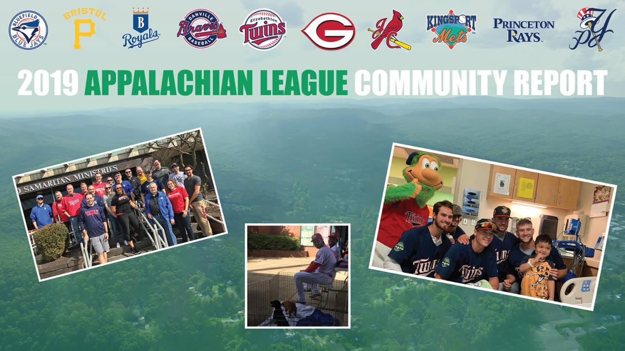 Appalachian Community Report Media Wall 2019