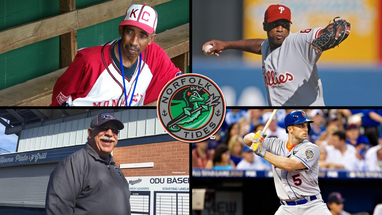 Tides to induct four into Tidewater Shrine