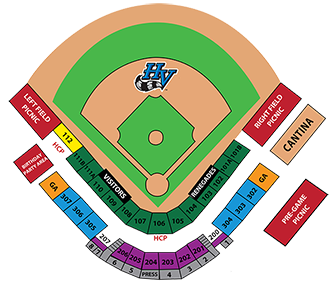 Dutchess Stadium Seating Chart