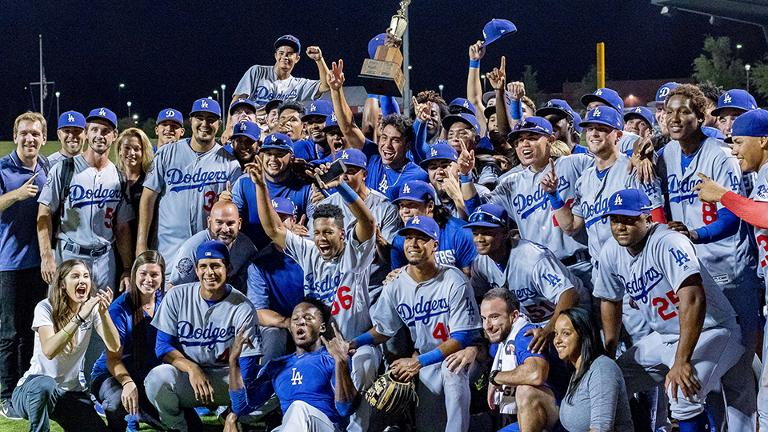 Dodgers hang on, win 2018 AZL championship