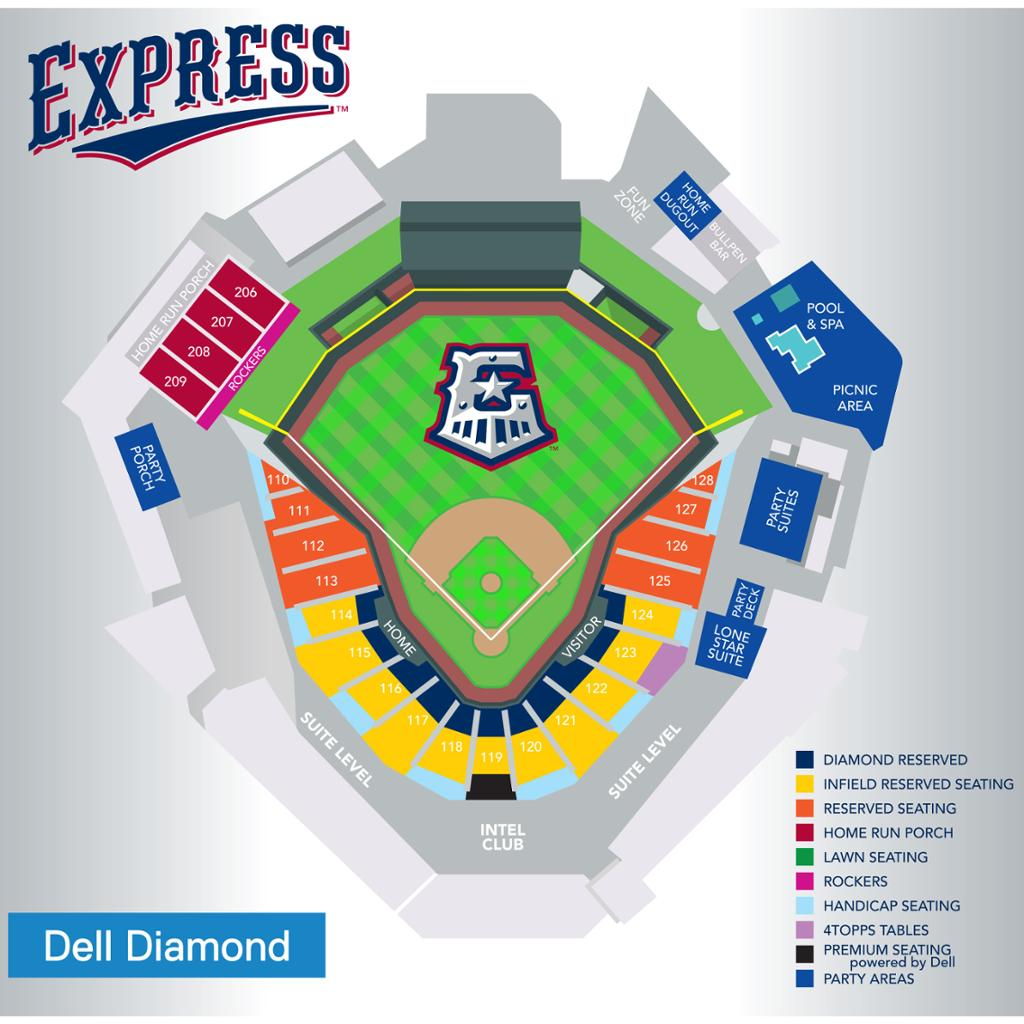 Round Rock Express Seating Chart Express