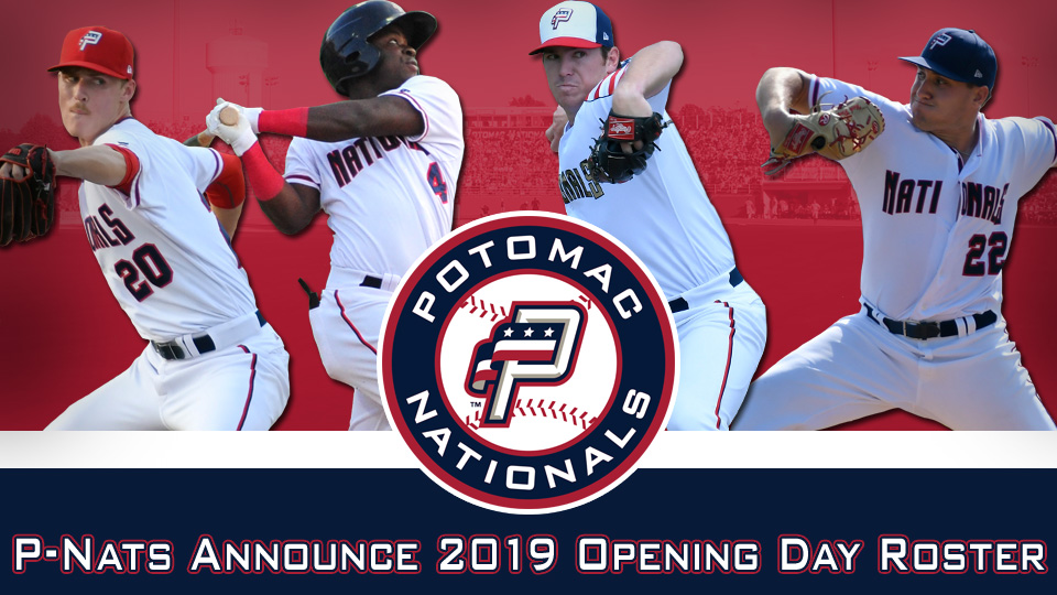 Potomac Nationals Announce 2019 Opening Day Roster Potomac