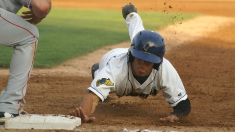Kyle Von Tungeln (above) was named to the 2012 NWL All-Star team, along with fellow outfielder Francisco Sosa.