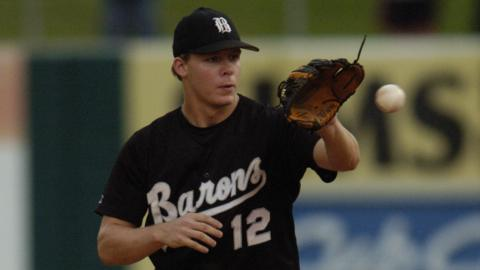 Chris Getz reached Double-A Birmingham in 2006, his first full season in the White Sox system.