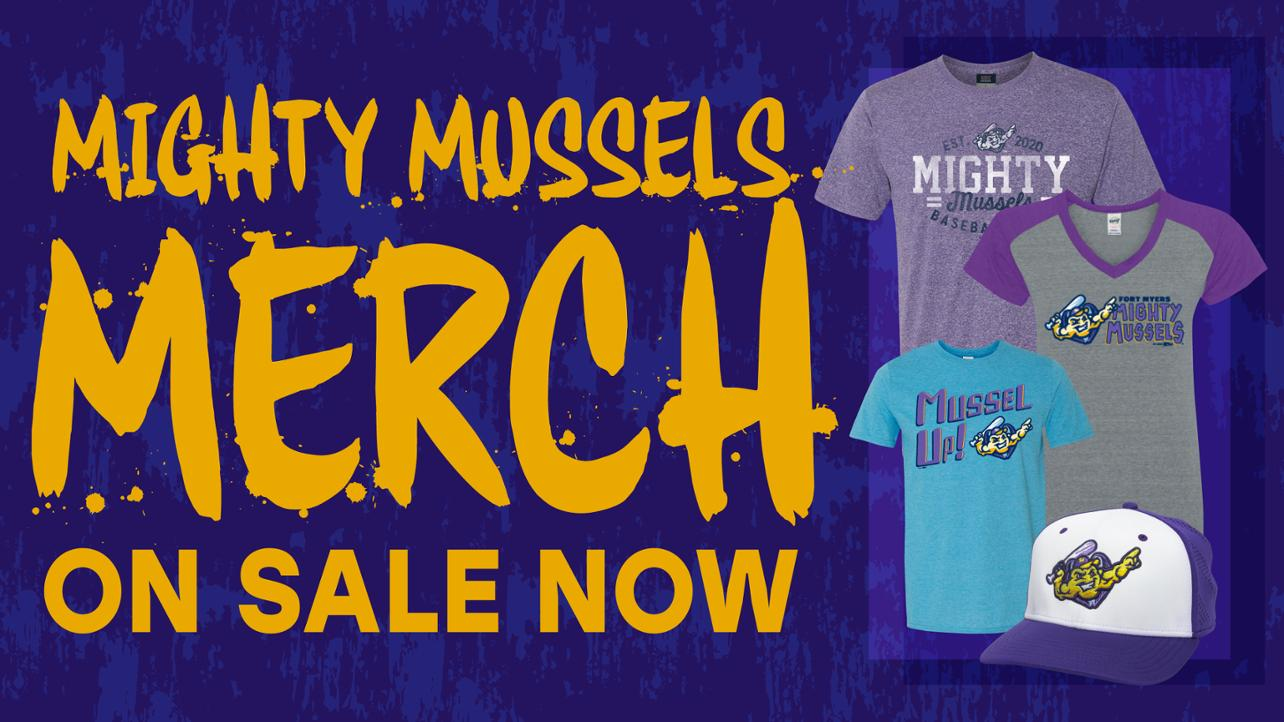 Mighty Mussels Merchandise On Sale