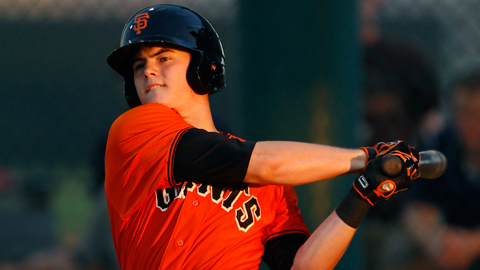 Christian Arroyo was the 25th overall pick in this year's Draft.