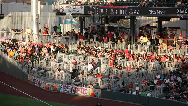 The Fiesta Patio Is Conveniently Located At Field Level Just Beyond First  Base. Positioned Only A Few Feet From The Foul Line, This Location Will  Provide ...