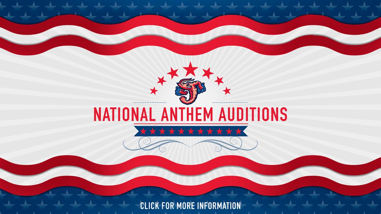 Jumbo Shrimp open registration for February 28 National Anthem auditions