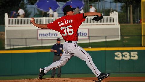 A RoughRider in 2008, Rangers pitcher Derek Holland is scheduled to sign autographs in Frisco on January 11.