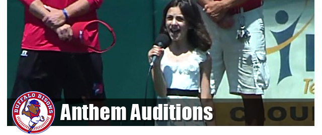 Bisons Anthem Auditions
