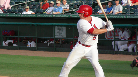 Cody Stanley had two home runs and eight RBI on Wednesday night.