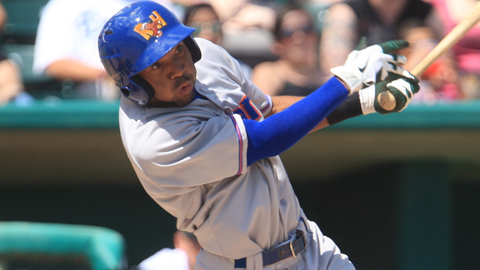 D'Arby Myers is hitting .289 with 34 extra-base hits in the Texas League.