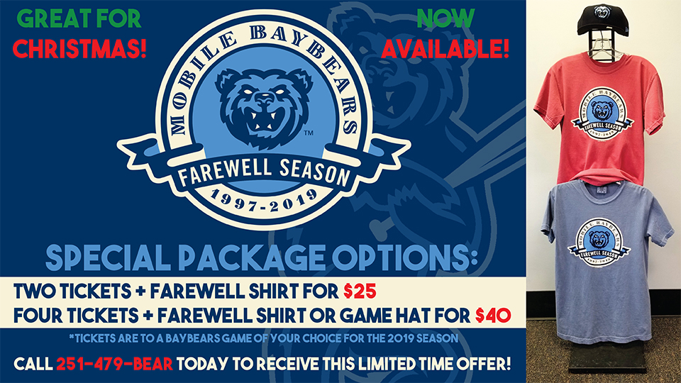Special Farewell Season Offer!