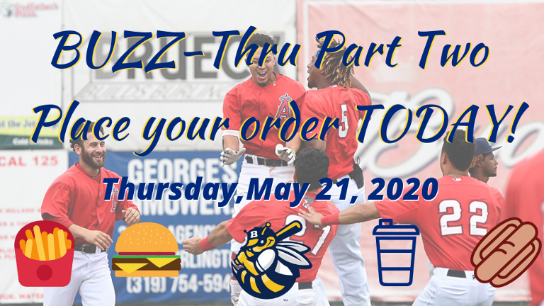 Bees offer curbside pick-up orders to fans May 21