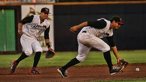 Carlos Correa and Rio Ruiz combined for seven hits in the River Bandits' first-round series win.