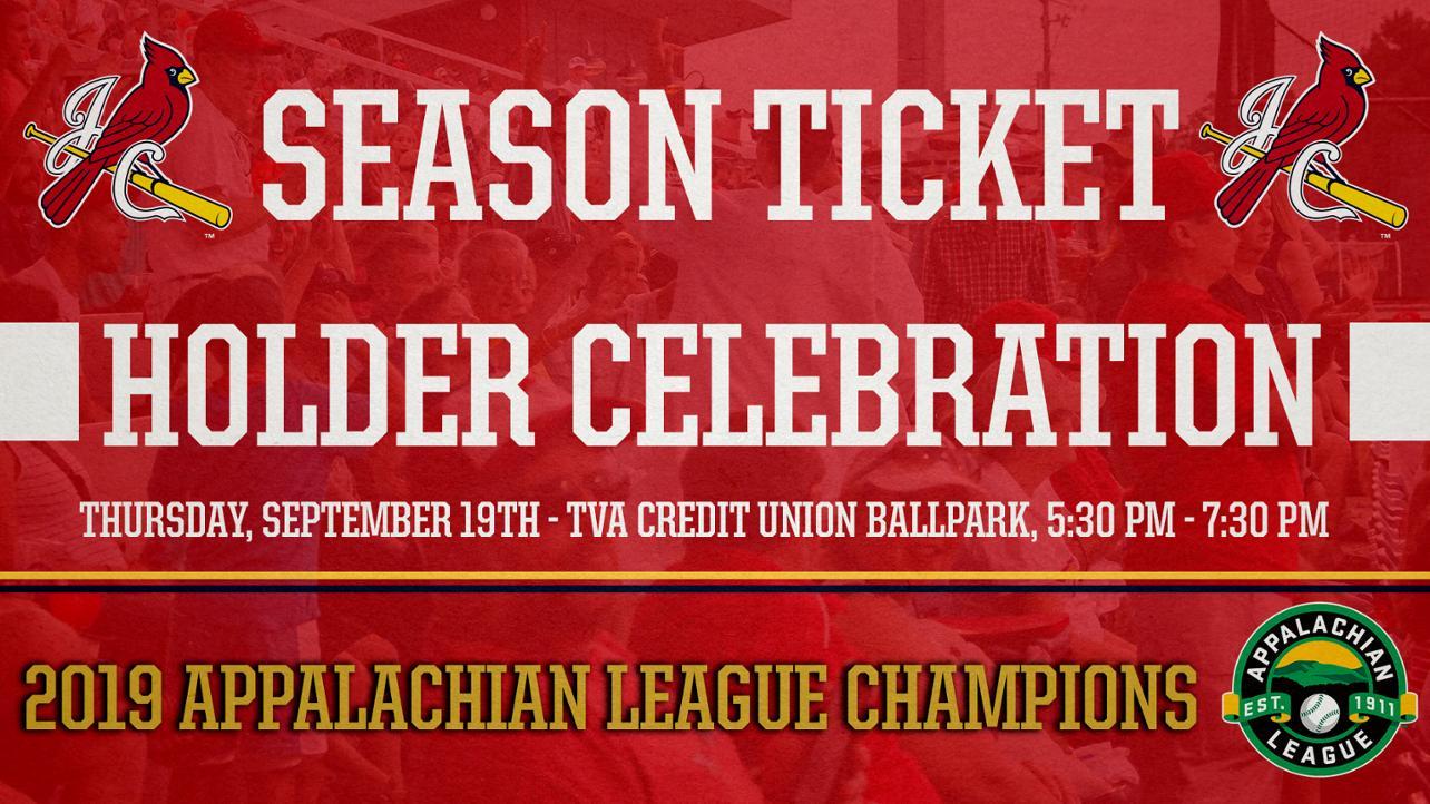 Season ticket holder celebration