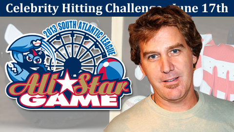 "Comedian Jim Florentine has been added to the June 17th ""Celebrity Hitting Challenge."""