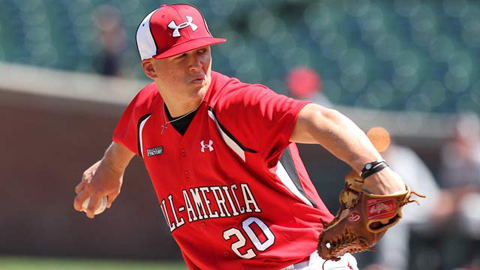 Bryan Brickhouse has a 2.41 ERA in six starts with Lexington this year.