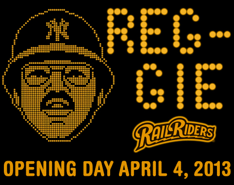 "Chants of ""REG-GIE, REG-GIE"" might echo once more when he throws out a ceremonial first pitch on April 4."