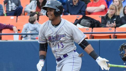 Louis Silverio fell four RBIs short of the Carolina League record, set by Hagerstown's Dave Falcone in 1986.
