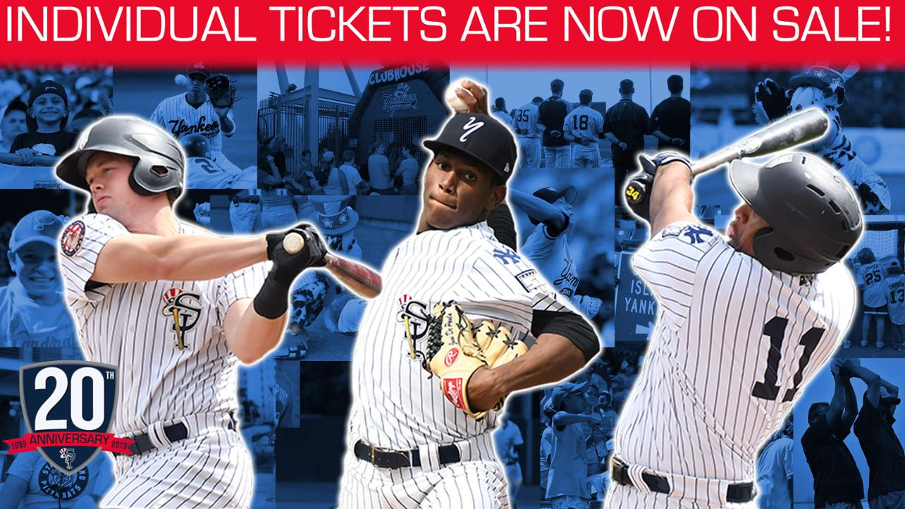 Individual Tickets on Sale NOW