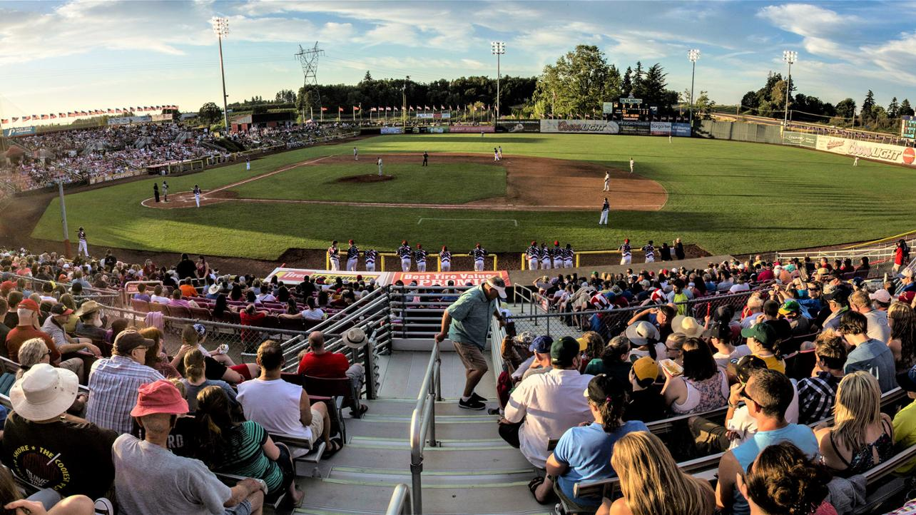 BUY YOUR SALEM KEIZER VOLCANOES BASEBALL TICKETS NOW!