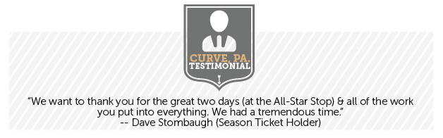 Season Ticket Testimonial