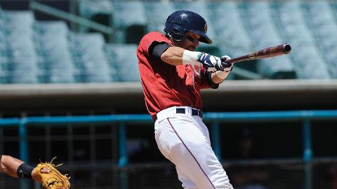 Andrew Aplin went 3-for-3 in the JetHawks first loss of the second half.