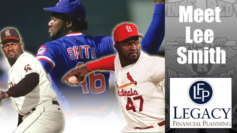 Lee Smith saved 478 games, 3rd on baseball's all time list.