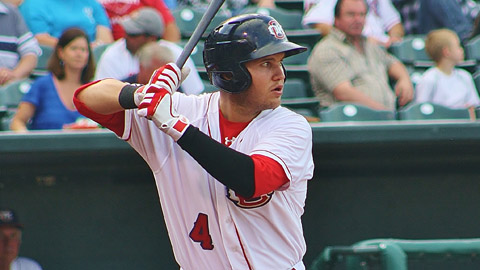 Brandon Laird has a .785 OPS in 91 games for Oklahoma City.