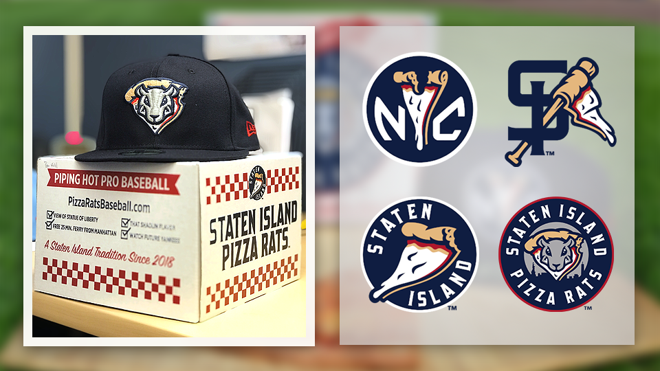 ec22e3e6e67 The Class A Short Season Staten Island Yankees will play as the Pizza Rats  for all five of their Saturday home games in 2018.