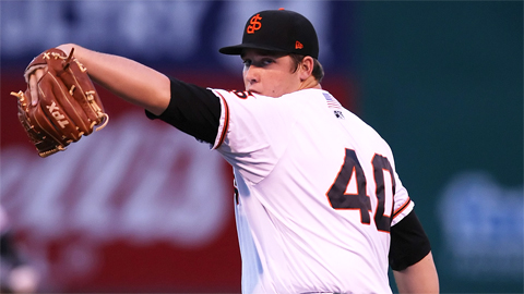 Clayton Blackburn ranks fourth in the Cal League with a 3.65 ERA.