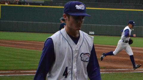 Jimmy Lambert struck out 43 and walked 11 in 74 innings with Class A Kannapolis this season.