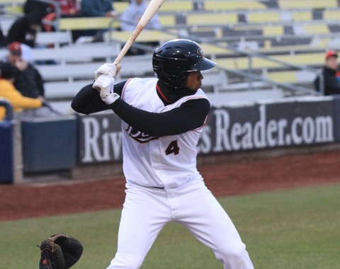 Teoscar Hernandez led all players with four hits and three runs Wednesday.